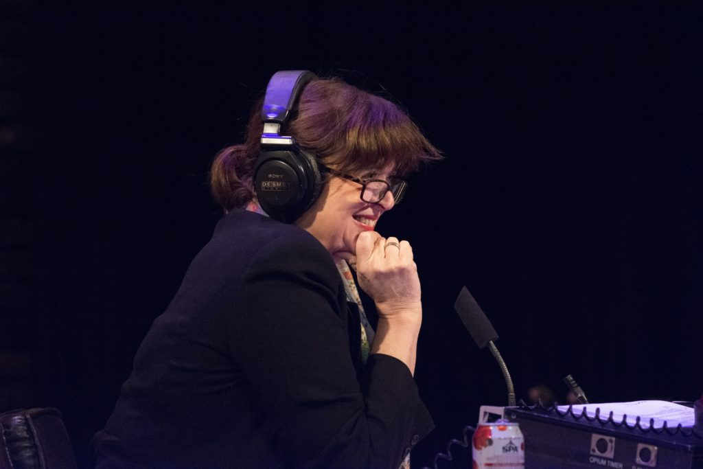 Petra Possel radio presentator en interviewer